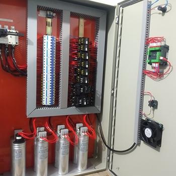 Banco de capacitores em Itirapina