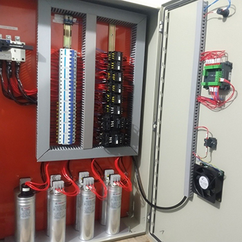 Banco de capacitores em Morungaba