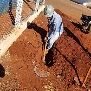 Instalação de SPDA em Pirajuí