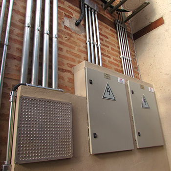 Instalações elétricas galpão em Indaiatuba