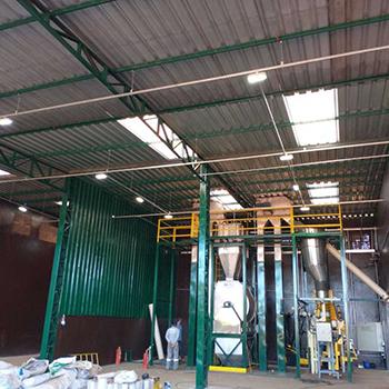 Montagem elétrica de galpão em Orlândia