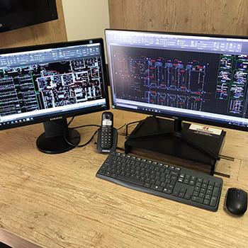 Projeto elétrico industrial em Lins