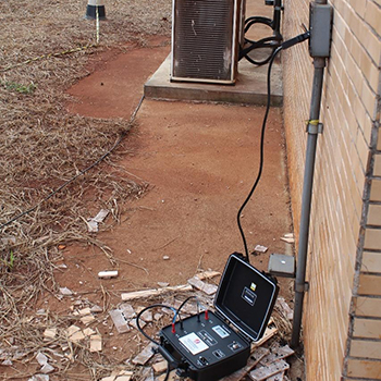 Sistema de proteção contra descargas atmosféricas em Piracaia